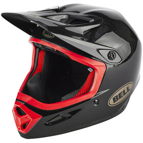 Bell Transfer-9 - Casque de vélo - rouge/noir